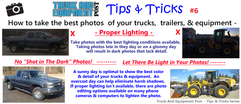 how to take photos tip proper lighting