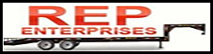 rep enterprises equipment enclosed trailers greenland new hampshire