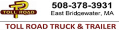 toll road truck trailer bridgewater mass