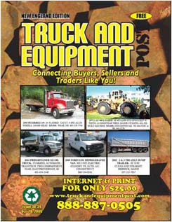 truck and equipment post book magazine paper for new and used commercial trucks sales new and used heavy equipment sales trailers in new england and new york